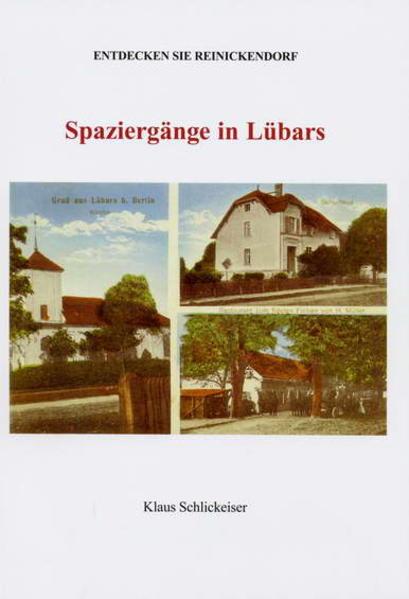 Entdecken Sie Reinickendorf. Spaziergänge in Lübars - Coverbild