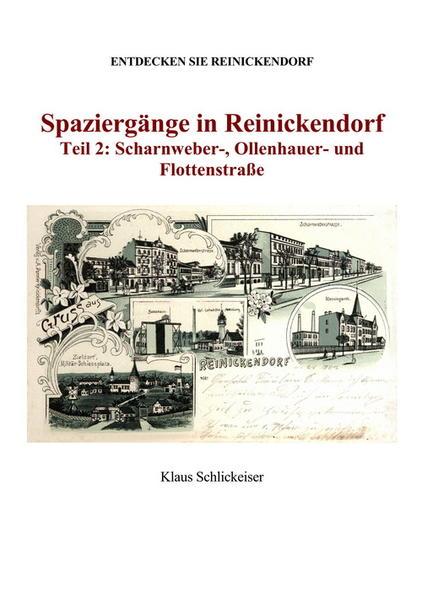Entdecken Sie Reinickendorf. Spaziergänge in Reinickendorf. Teil 2: Scharnweber-, Ollenhauer- und Flottenstraße - Coverbild