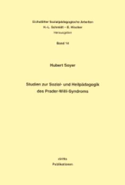 Studien zur Sozial- und Heilpädagogik des Prader-Willi-Syndroms - Coverbild