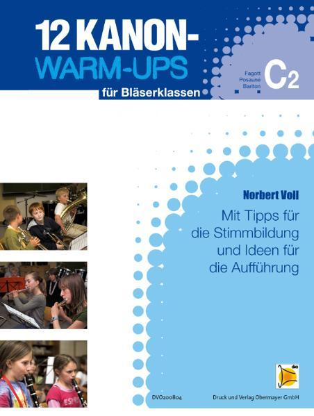 12 Kanon Warm-Ups - C2-Heft - Coverbild