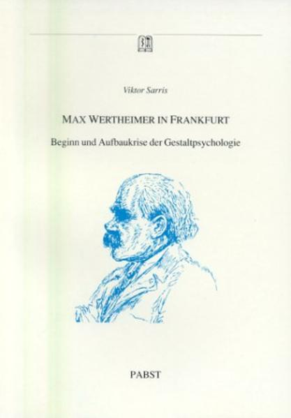 Max Wertheimer in Frankfurt - Coverbild