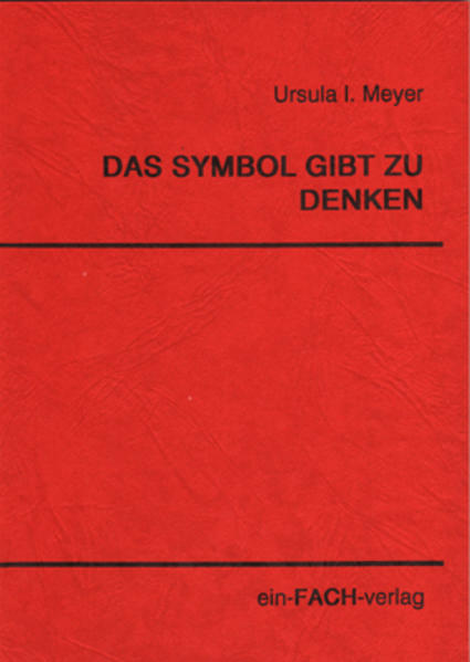 Das Symbol gibt zu denken - Coverbild