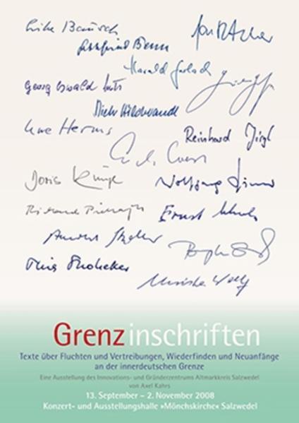 Grenz-inschriften - Coverbild