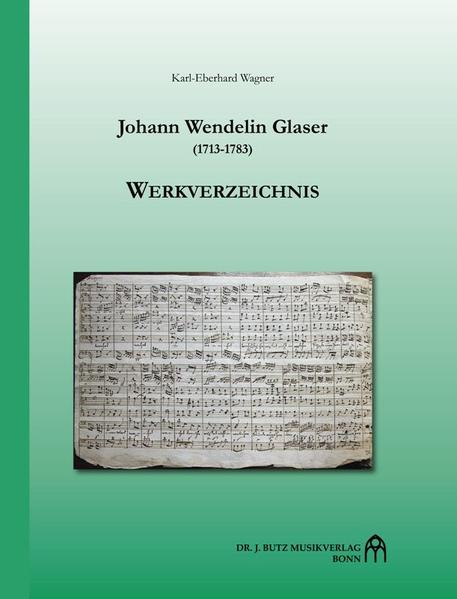 Johann Wendelin Glaser (1713-1783) - Coverbild