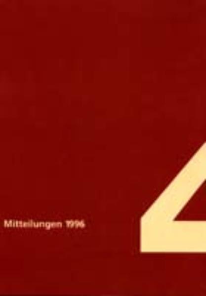 Mitteilungen - Coverbild