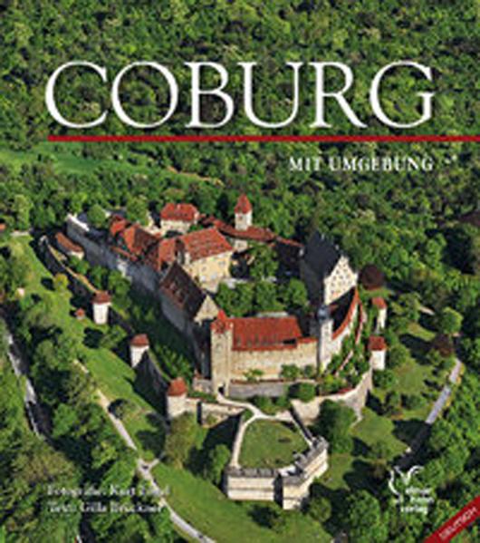 Coburg mit Umgebung, englische Ausgabe - Coverbild