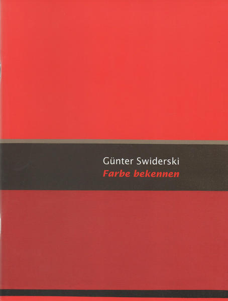 Günter Swiderski - Coverbild