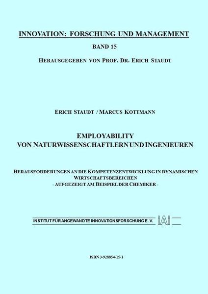 Employability von Naturwissenschaftlern und Ingenieuren - Coverbild