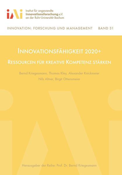 Innovationsfähigkeit 2020+ - Coverbild