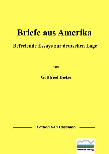 Briefe aus Amerika - Coverbild