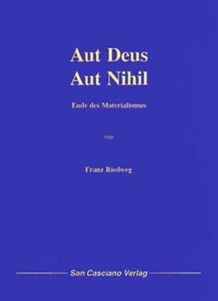 Aut Deus - Aut Nihil - Coverbild