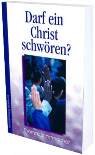 Darf ein Christ schwören? - Coverbild