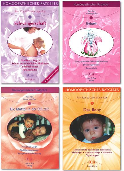 Homöopathische Ratgeber Ratgeberpaket Rund um die Geburt - Coverbild