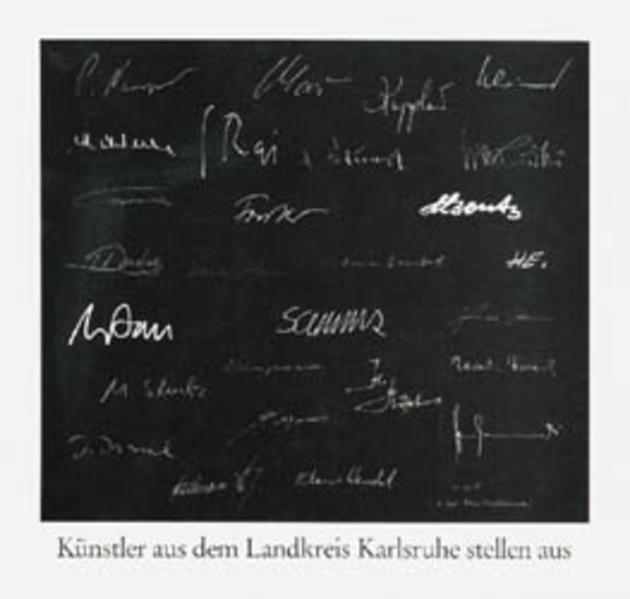 Künstler aus dem Landkreis Karlsruhe stellen aus - Coverbild