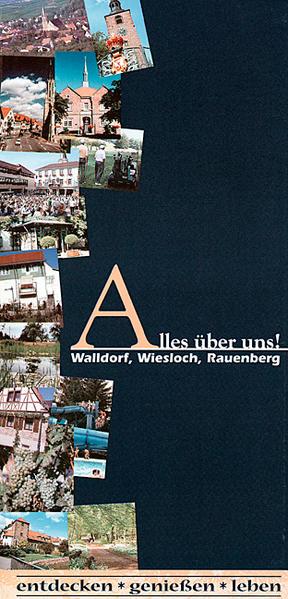 Alles über uns! Walldorf, Wiesloch, Rauenberg - Coverbild