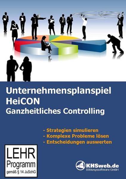 Unternehmensplanspiel HeiCON Ganzheitliches Controlling - Coverbild