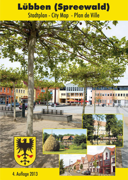 Stadtplan Lübben - Coverbild