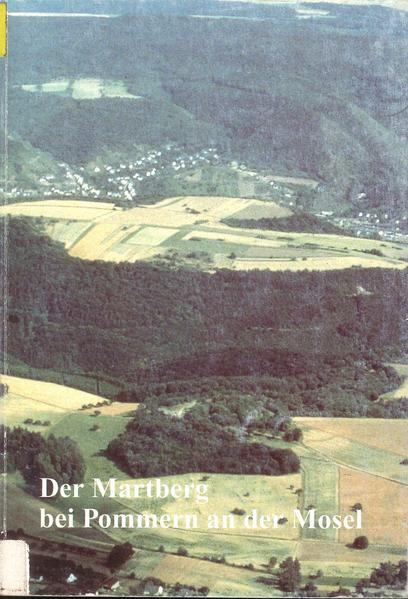 Der Martberg bei Pommern an der Mosel - Coverbild