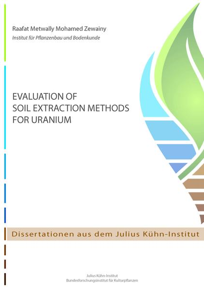 Evaluation of soil extraction methods for uranium - Coverbild