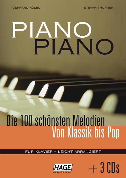 Piano Piano. Mit 3 CDs - Coverbild