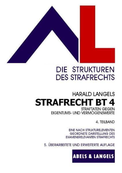 Strafrecht BT 4 - Coverbild