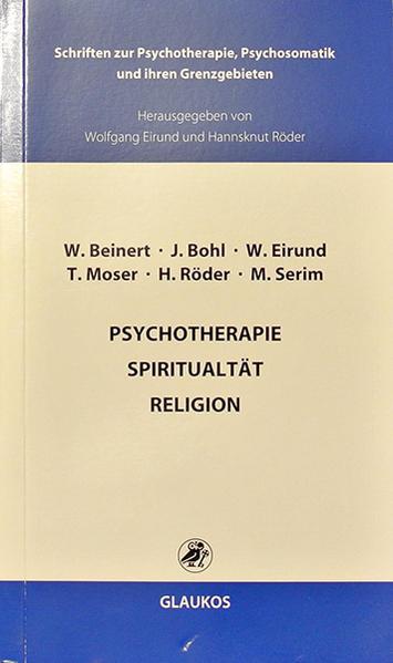 Psychotherapie Spiritualität Religion - Coverbild