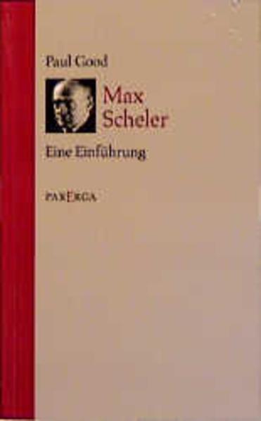Max Scheler - Coverbild