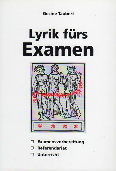 Lyrik fürs Examen - Coverbild
