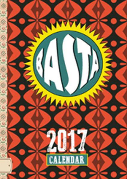 Basta Taschenkalender 2017 - Coverbild