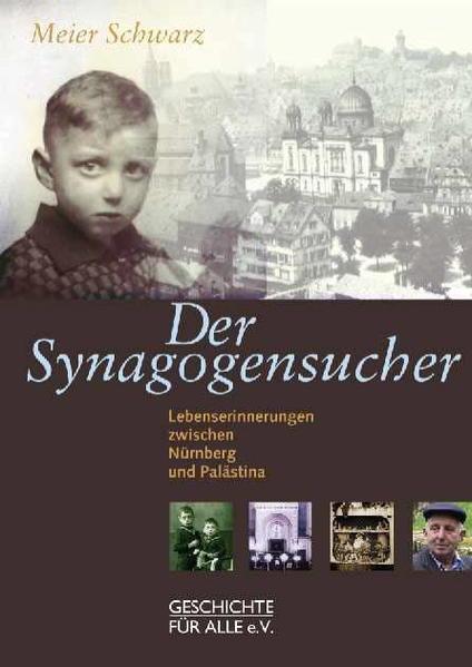 Der Synagogensucher - Coverbild