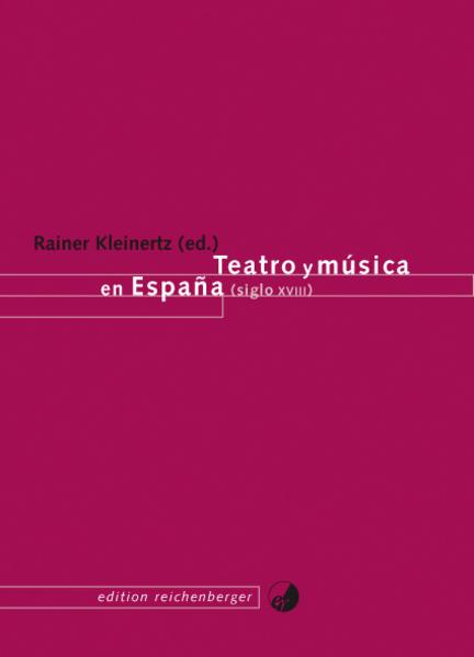 Teatro y música en España (siglo XVIII) - Coverbild