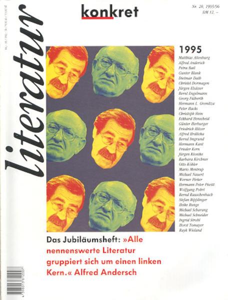 Literatur konkret / Literatur konkret - Coverbild