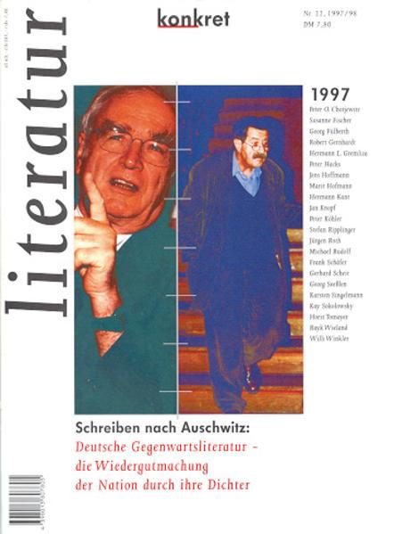 Literatur konkret / Schreiben nach Auschwitz: Deutsche - Coverbild