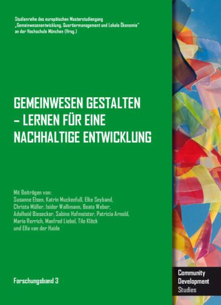 Gemeinwesen gestalten - Lernen für eine nachhaltige Entwicklung - Coverbild