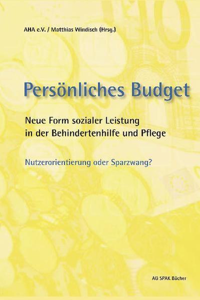 Persönliches Budget - Coverbild