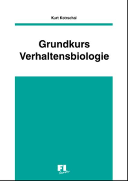 Grundkurs Verhaltensbiologie - Coverbild