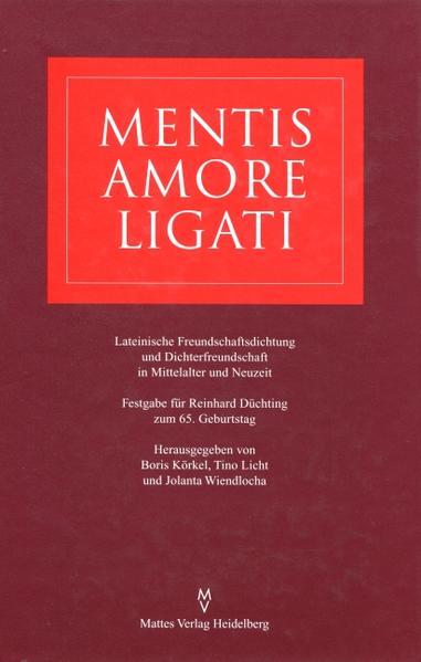 Mentis amore ligati - Coverbild