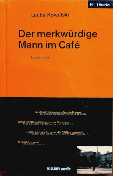Der merkwürdige Mann im Café - Coverbild