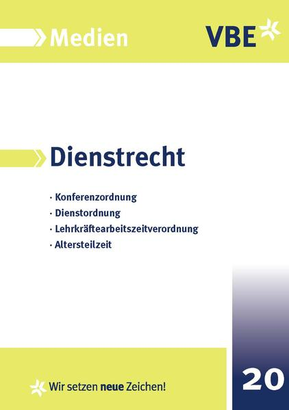 VBE-Rheinland-Pfalz - Coverbild