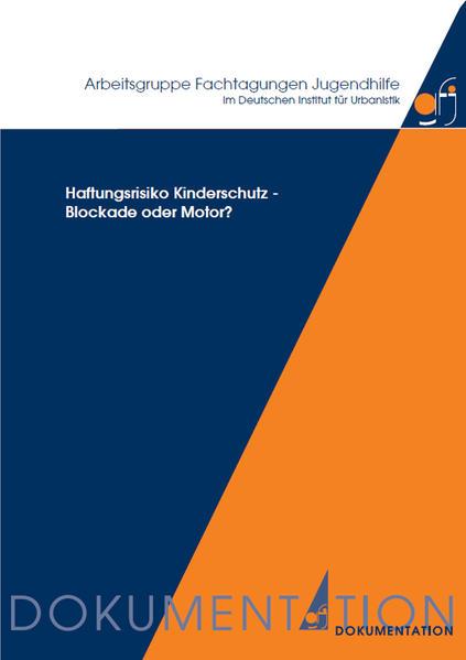 Haftungsrisiko Kinderschutz - Blockade oder Motor? - Coverbild