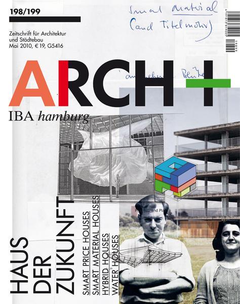 ARCH+ 198/199 IBA HAmburg - Haus der Zukunft - Coverbild