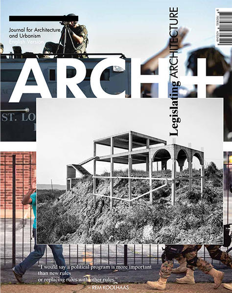 Legislating Architecture - Coverbild