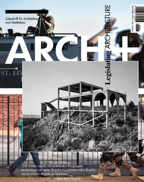 Legislating Architecture - Coverbild