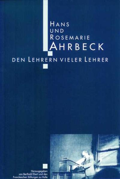 Hans und Rosemarie Ahrbeck - Coverbild