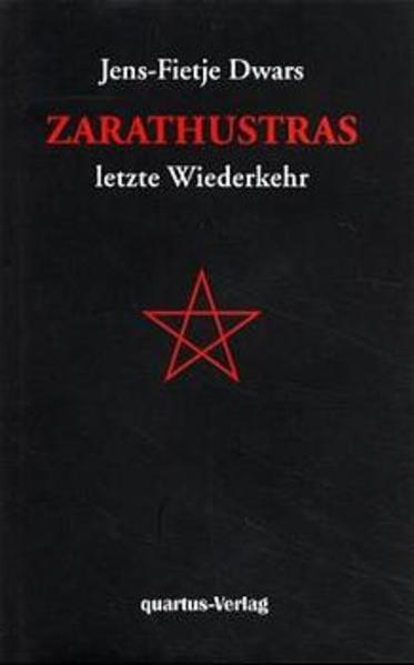 Zarathustras letzte Wiederkehr - Coverbild