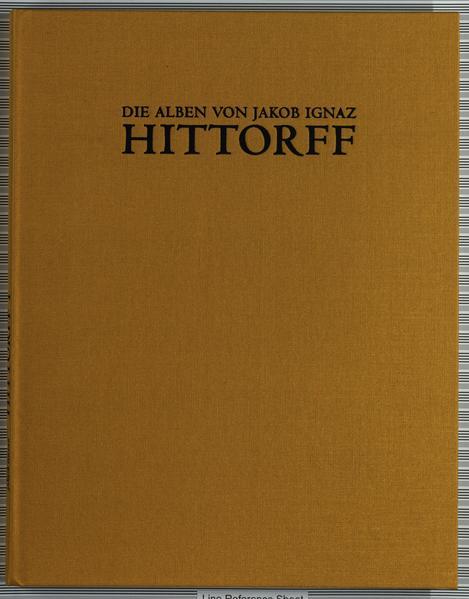 Die Alben von Jakob Ignaz Hittorff - Coverbild