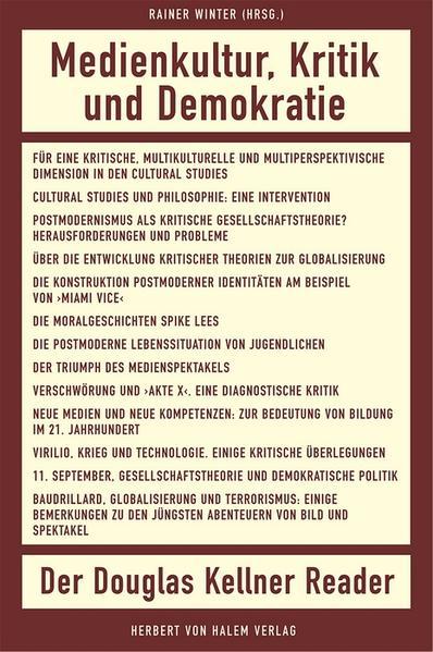 Medienkultur, Kritik und Demokratie - Coverbild