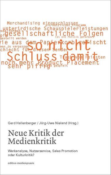 Neue Kritik der Medienkritik - Coverbild