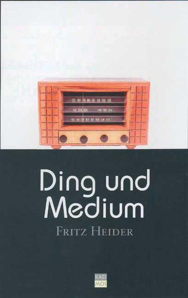 Ding und Medium - Coverbild
