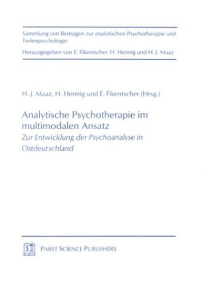 Analytische Psychotherapie im multimodalen Ansatz - Coverbild